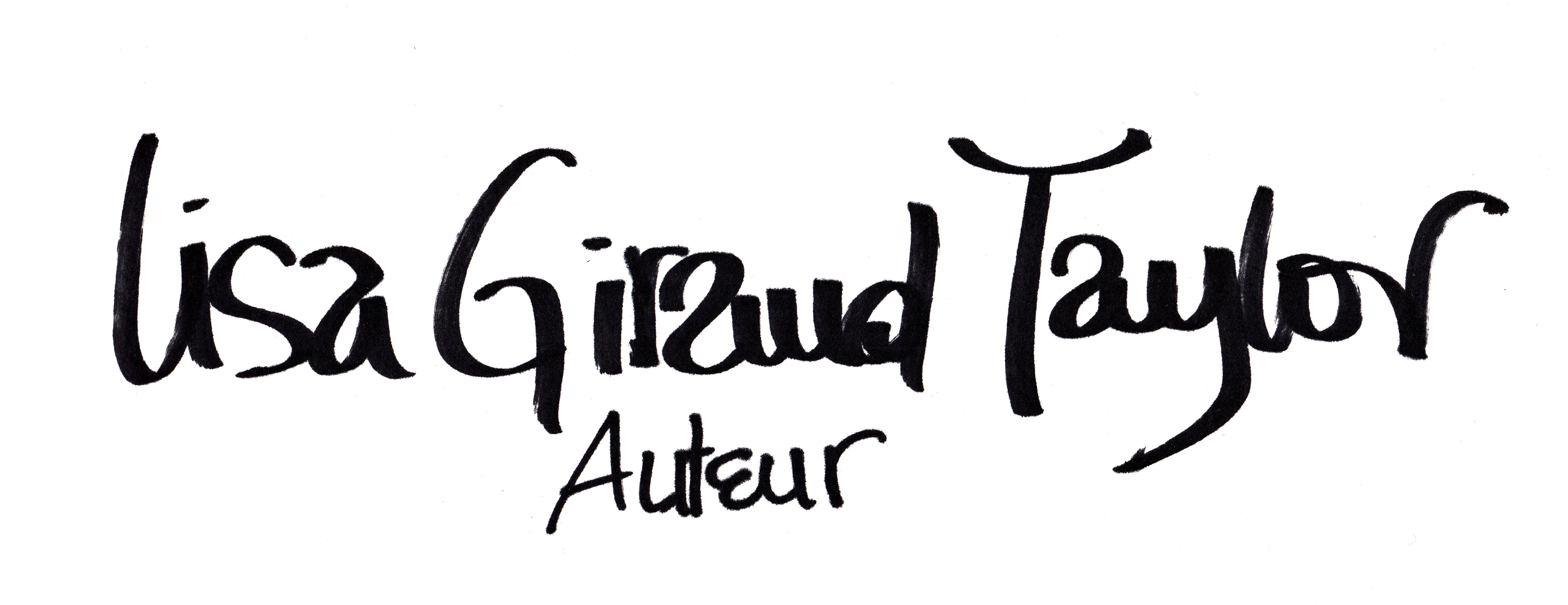 Lisa Giraud Taylor – Auteur